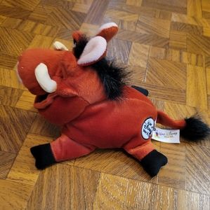 2/$10 Pumbaa The Lion King Disney World Plush Toy